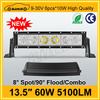 off road light 60w 13.5inch led light bar