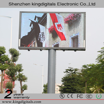 China LED Display Manufacturers, Exporters Suppliers, IP65 Waterproof Epistar Chip Outdoor LED Screen