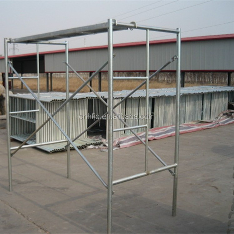 Painted Scaffolding Narrow Frame/Ladder Frame/Shoring Frame