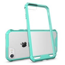 New Fit Shockproof For iPhone X Case Acrylic Transparent Clear Phone Cases Cover For iPhone 10 Case
