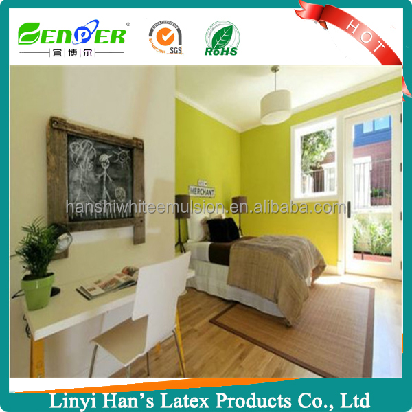 Han's Environmental exterior wall coating with water base elastic paint