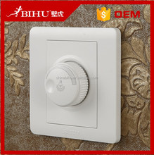 electric switch manufacturer BIHU White PC dimmer switch 220v led dimmer switch