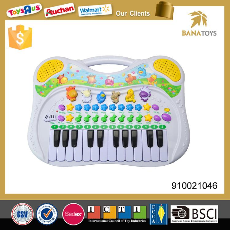 Educational music instrument toy electronic organ