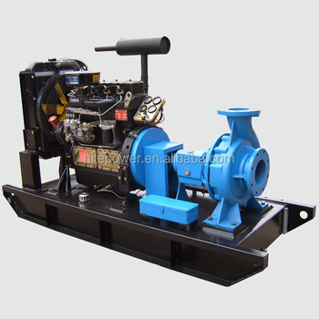Easy Start Competitive Price diesel engine water pump set
