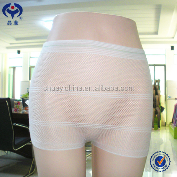 Easy use ladys odorless disposable underwear