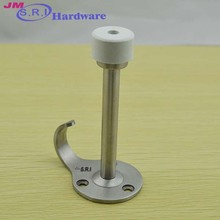 Unique stainless steel door wind stopper with hook