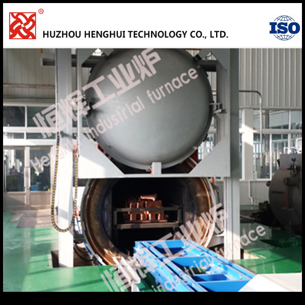 heat insulation vacuum furnace for copper wire annealing