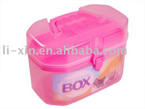 Plastic storage case