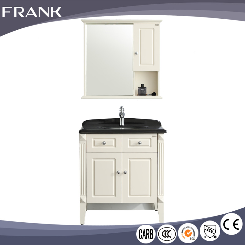 Frank china supplier luxurious America Valspar painting bath cabinet oak