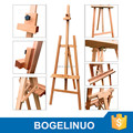 in stock 150cm professional artist painting beech wood easel