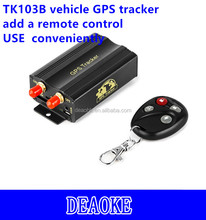 Free Software Tracking Online gps tracker remotely shutdown vehicle TK103B