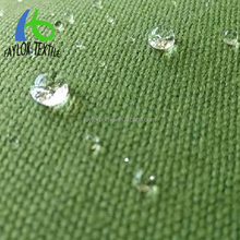 new style 100% cotton waterproof canvas fabric for tent