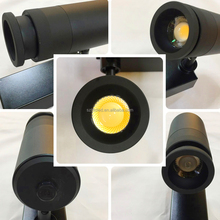Factory directly sell shop focusable spotlight led track lighting 15W 35W