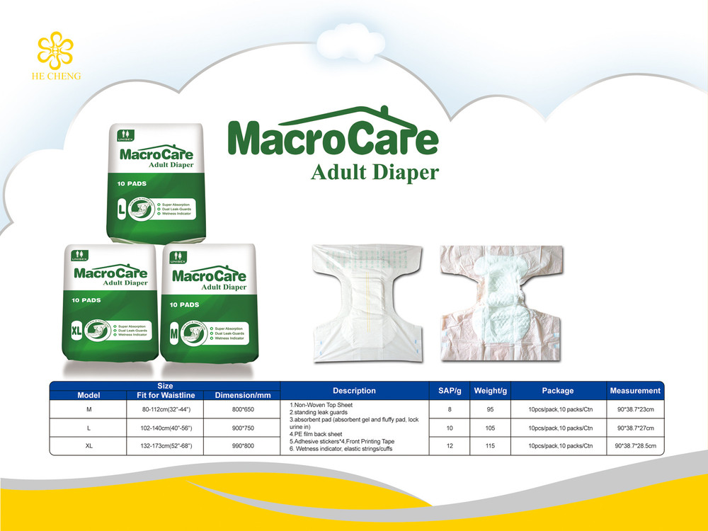 Stocklot baby diaper adult incontinence diaper