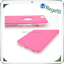Soft PU Leather Case TPU Slim Back Cover for iPhone Samsung LG
