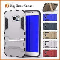 Multi-function hybrid combo stand slim armor case for samsung galaxy s6 edge G925F