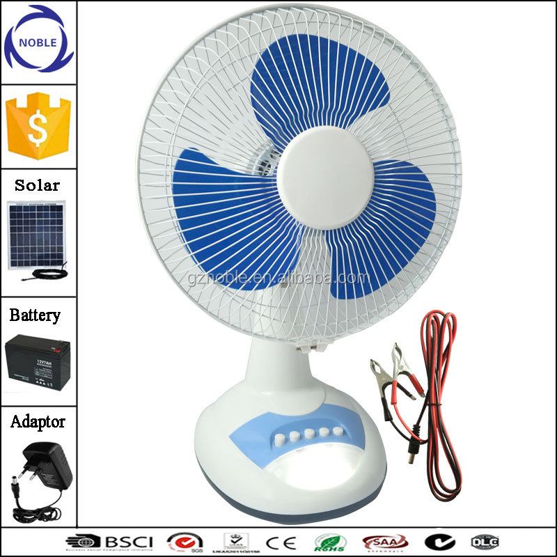 15w dc 12v 24v 36v solar table fan for Southeast Asia and Middle East Market