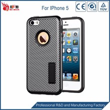 New design double Layers Hard Back Cover phone case for iphone 5c
