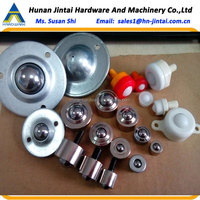 stainless steel ball caster wheel 15mm nylon plastic spring casters rollers miniature ball transfer units hobby supplies