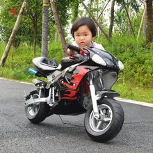 49cc mini pocket bike 2 stroke kids mini gas motorcycle 50cc