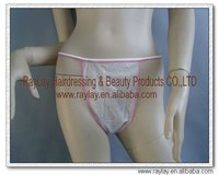 Salon & spa disposable T-back panties