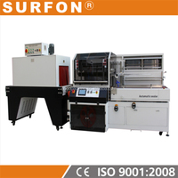L type sealer Tunnel Shrink Packaging Machinery for tea gift bag