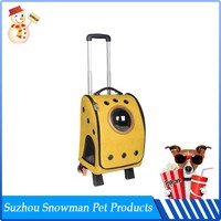 Portable Flexible Washable Travel use pet carriers for small dogs
