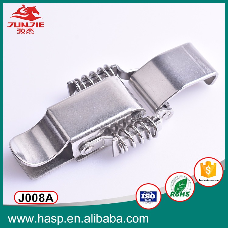 Stainless steel toggle latch, Spring Loaded Recessed Handle Spring Toggle Latch J008A