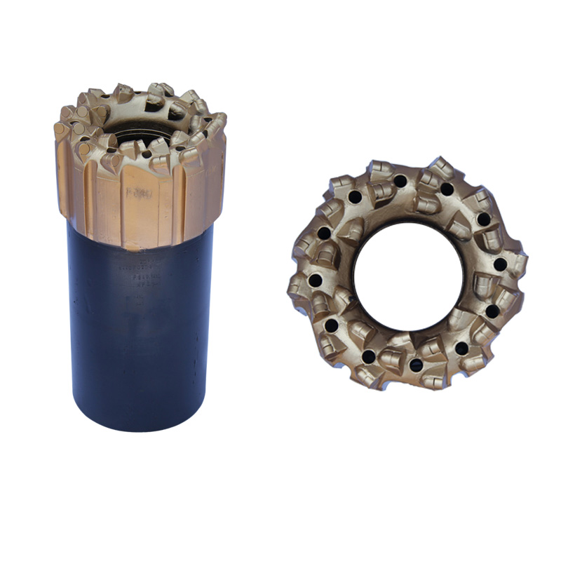 Long Service Life diamond core drill bit for hard rock