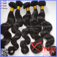 Wholesale Hot Selling 28 inch virgin remy brazilian hair weft