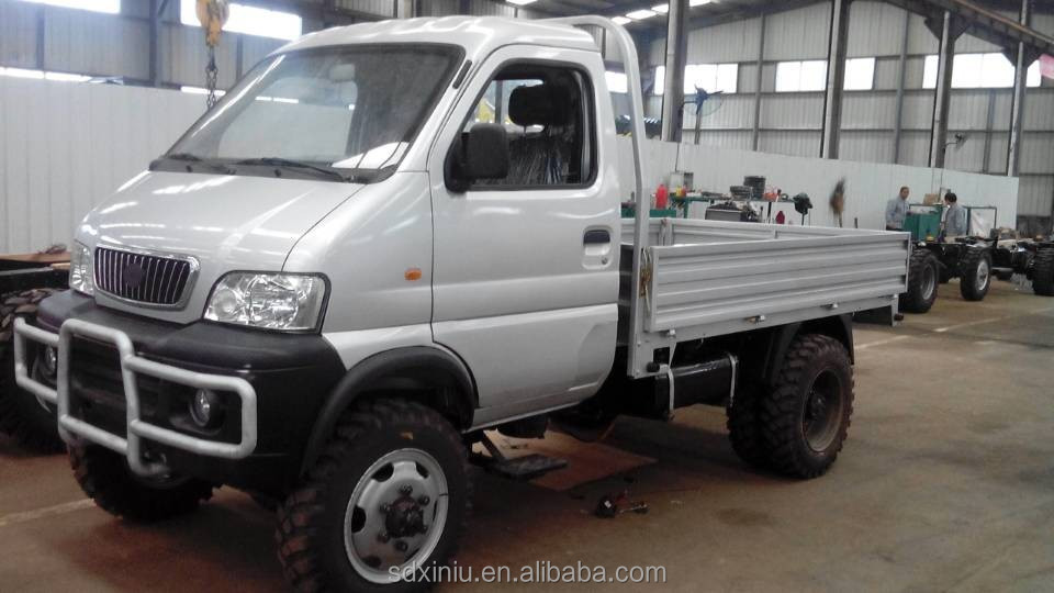 made in China 4x4 mini small dump truck 4WD self-dumping truck for sale