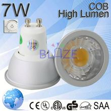 ShenZhen gu10 spotlight lamp price 5w 7w led spotlight Aluminium gu10 led spot light 38 degree beam angle