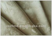 Newest and good quality satin jacquard textile fabric