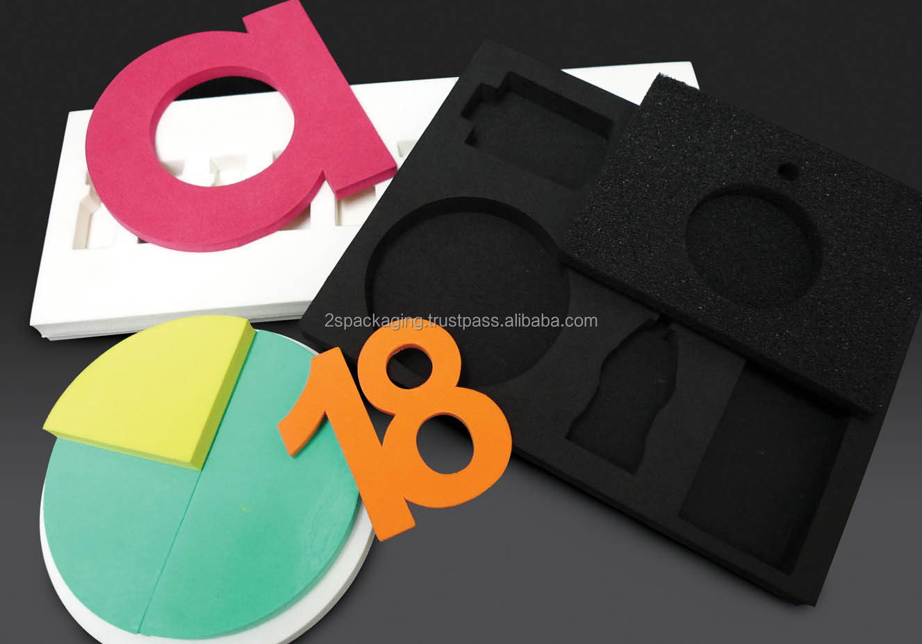 Die Cut PU, EVA, PE Foam Tape with Exceptional Shock Absorption and Pressure Reduction