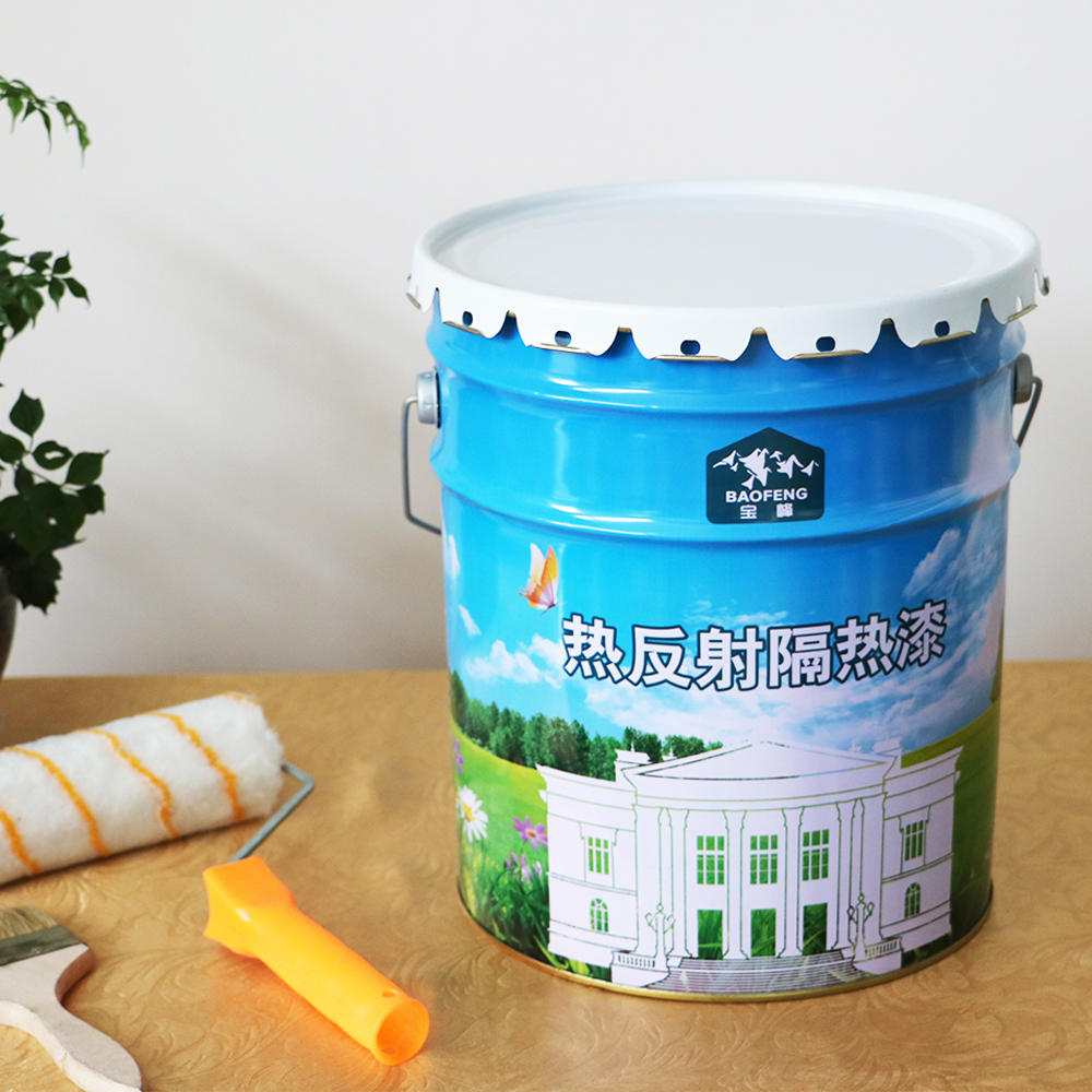 Water soluble heat resistance spray paint for water tank