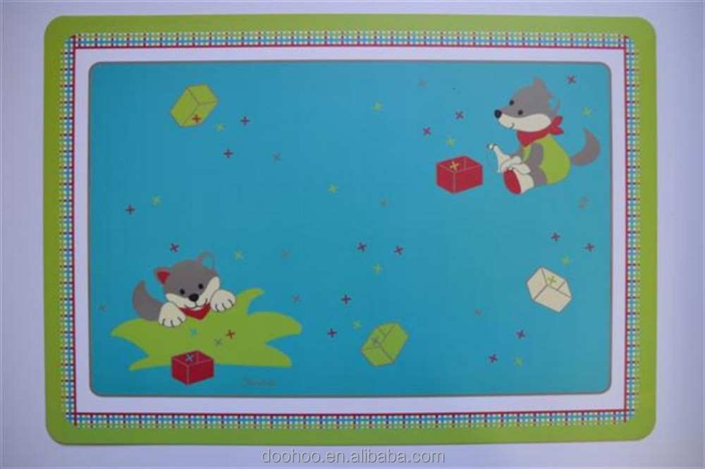 wholesale PP table mat,cuatom PP placemat,cheap plastic placemat