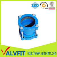 China ductile iron flexible joint universal coupling