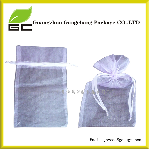 Widely used organza bags wholesale/Fabric Printing Pouch