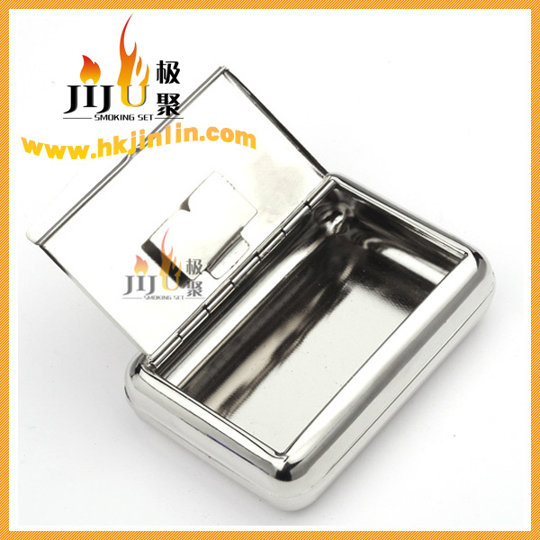 Yiwu Jijin JL-056N Fashion reusable metal waterproof cigarette tobacco box wholesaler