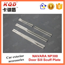 * 2014-ON NAVARA NP300 STAINLESS STEEL DOOR SILL SCUFF PLATE BEST SELLING NAVARA ACCESSORY