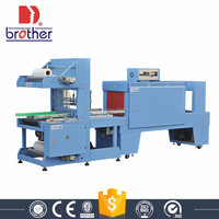 PE film sleeve packaging and shrink machine