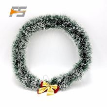Eco-Friendly Fashionable Cheap Christmas Pom Pom Foil Garland