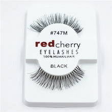 2016 Hot Selling Red Cherry Eyelashes Wholesale with Own Brand