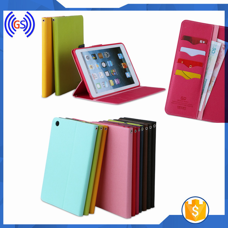 Goospery Flip Leather Case For Galaxy Tablet T230,For Samsung Galaxy Tab 4 T230 T231 T235 Case Wallet