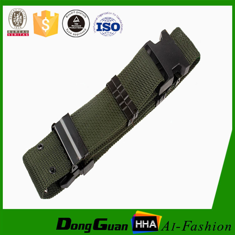 Police duty plastic buckle military uniform belts