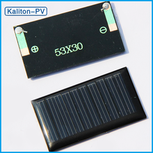 New 5V 30mA Polycrystalline Silicon Solar Cell Price Epoxy Mini Photovoltaic Solar Module