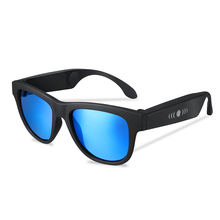 2019 factory direct sell UV400 polarized sunglasses smart bluetooth stereo sport bone conduction glasses