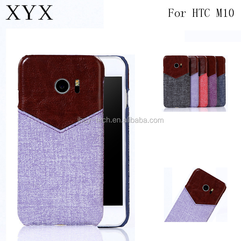 Low price china mobile phone pu leather case for HTC ONE <strong>M10</strong> cover with card slot