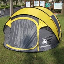 STAR HOME New Waterproof outdoor mosquito net tent tent 4 people camping
