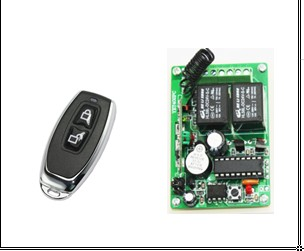 High Quality 12V 24V DC 2 Ch Light Door Garage Remote Switch